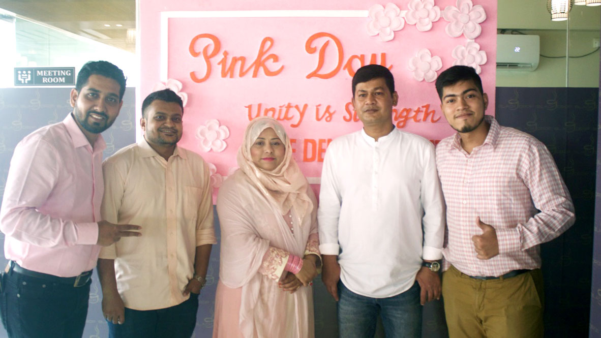 Nice Denim Pink Day
